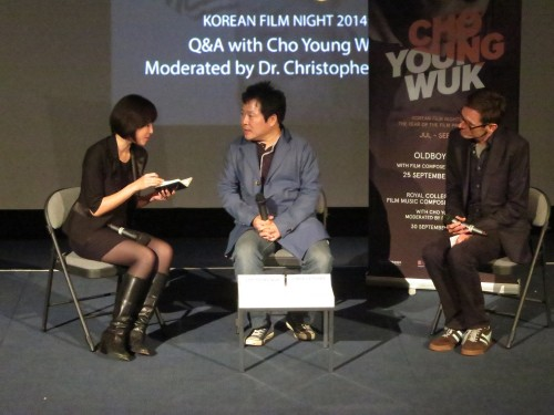 Post image for Cho Young-wuk on waltzes, playgrounds and working with Park Chan-wook