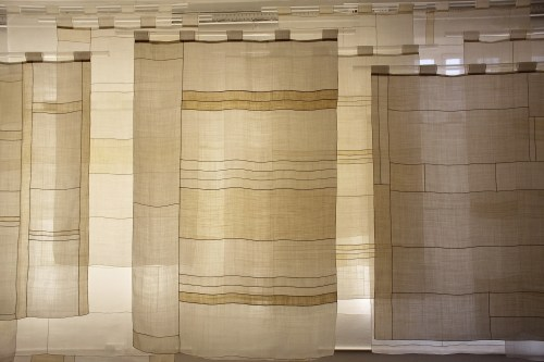 Curtains of Hansan ramie