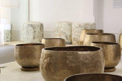 Lee Bong-ju's prayer bowls at Tent London (photo: LKL)