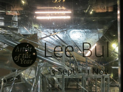 Lee Bul - artist of the year 2014 at the KCC