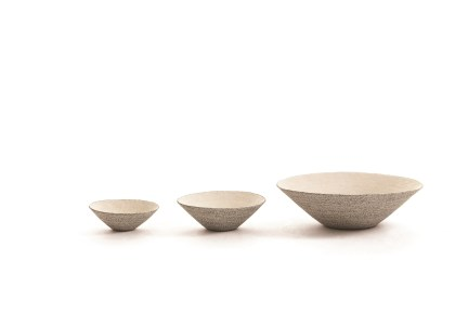 Mulberry Paper string bowls by Kim Eun-hye (photo: KCDF)