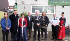 At the opening of the Korean Information Centre in New Maldon (photo: Ken Smith)