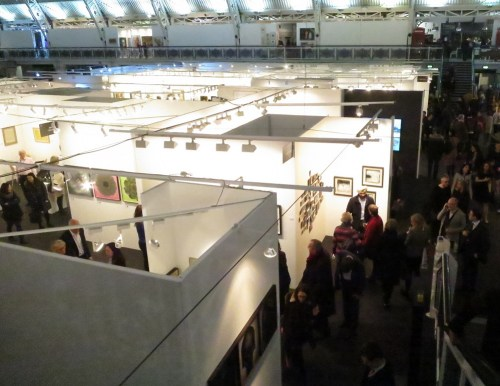 The Business Design Centre, home of the London Art Fair