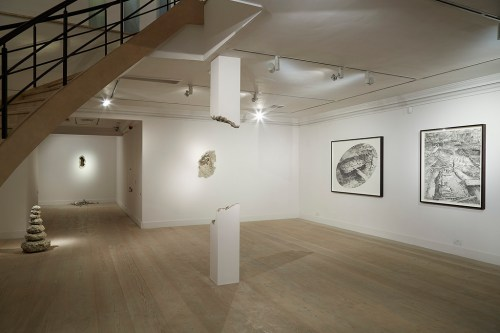 The ground floor of Hur Shan's solo show at Gazelli Art House