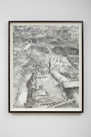 Hur Shan: Drawing Practice, #01-2 (The Ship from Ground Zero), 2015