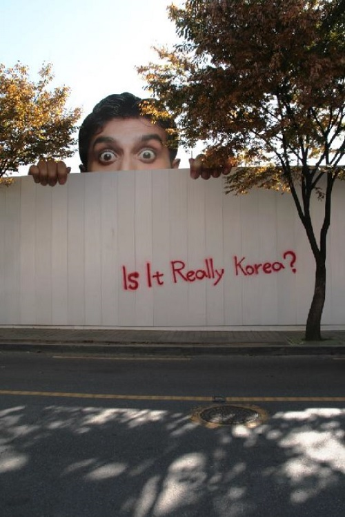Is it really Korea - poster
