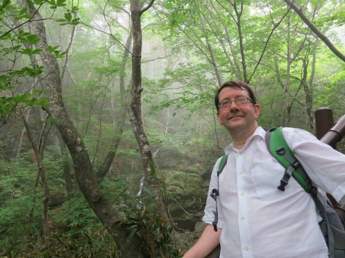 The ascent was hot and humid - the glasses were constantly steaming up