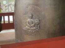 Jirisan Sanshin Halmoni - the grandmother mountain goddess of Jirisan, cast onto Beopgyesa's bell
