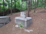 The less well-preserved tombs on Choansan are rather melancholy