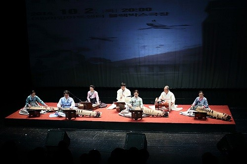 Korean traditional music ensemble