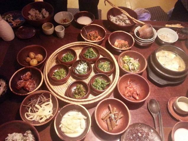 Dinner in Sanchon