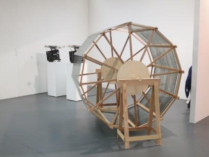Lee Hangjun: Nebula Rising installation, at Christine Park Gallery