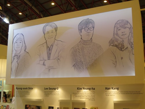 At the LTI Korea stand at the London Book Fair