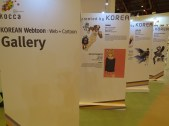 LBF - Webtoons and manhwa featured at the Korean pavilion