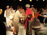 Audience participation after the performance in Daehakro
