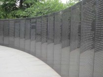 UN Memorial Cemetery, Busan: the wall of remembrance