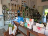 The Sancheong Herbal Products mall - venue for our light breakfast