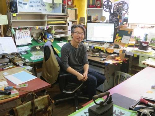 Studio MWP's Ahn Jae-hoon in his office