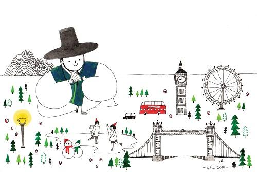 LKL Christmas Card 2014 white