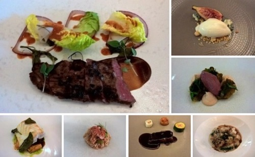 Chef Joo Won's tasting menu