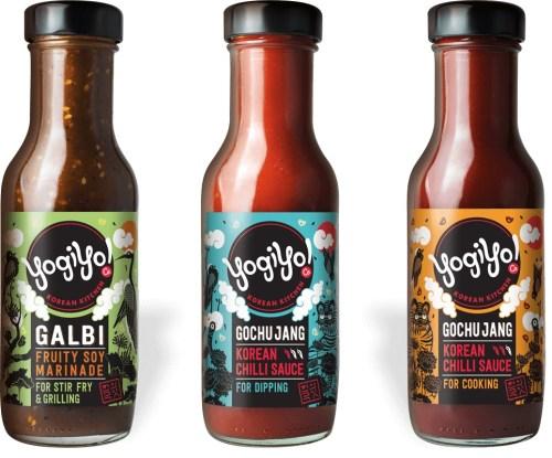 Yogiyo sauces