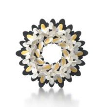 Misun Won: Circular Ovals brooch