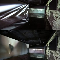 Rendering, projection mapping installation, dimension variable, 2013
