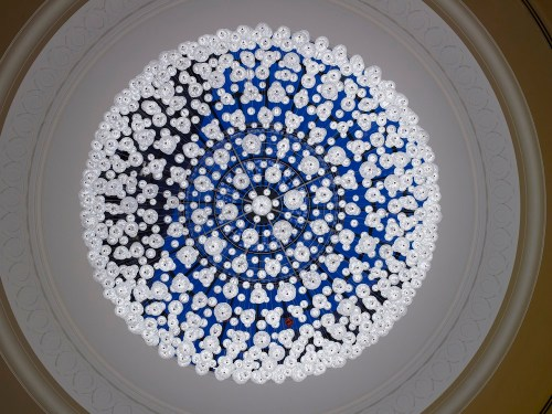 Another look at the chandelier