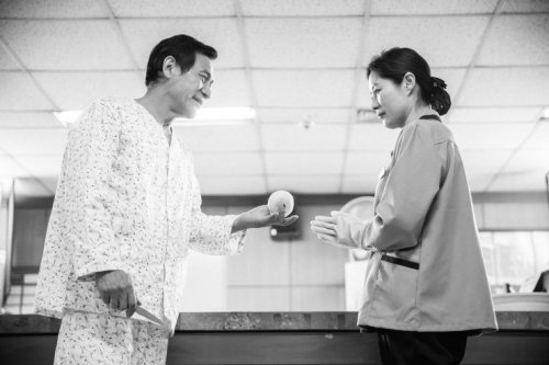 Ahn Sung-ki and Moon So-ri in Love And...