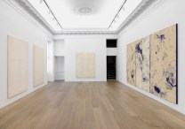 Installation view of the Chung Chang-sup exhibition at Gallerie Perrotin