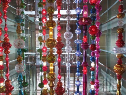Choi Jeong-hwa: installation in GOMA restaurant as part of APT8