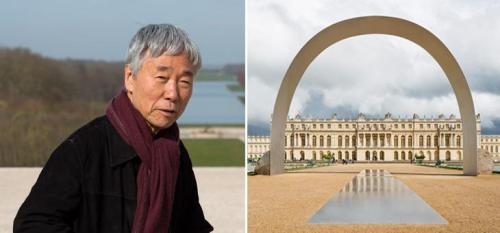Lee Ufan: Relatum - The Arch of Versailles. Courtesy the artist, Kamel Mennour Paris and Pace New York © Tadzio