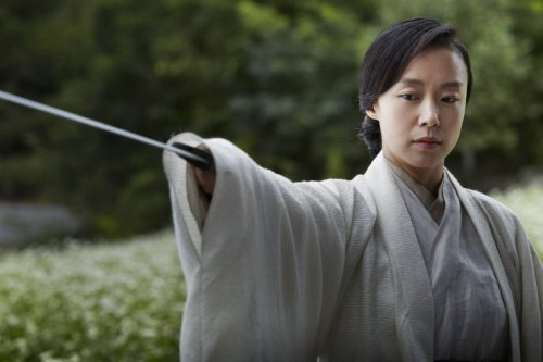Jeon Do-yeon as the tragic swordswoman