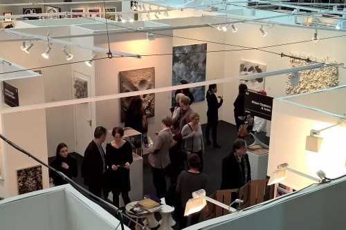 The Skipwiths stall, with works by Chun Kwang-young, Toh Yun-hee, Lee Kang-so and Park Hyo-jin