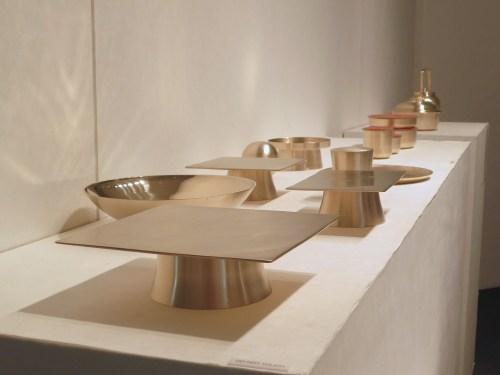 Brass tableware from Kim Soo-young and Cho Ki-sang