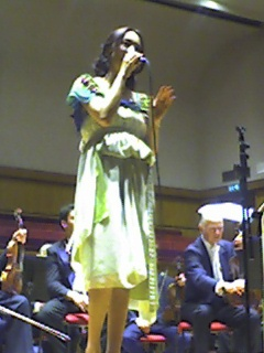 Lee Soo-young in May 2006 at the Fairfield Hall in Croydon