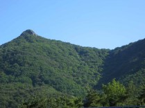 Pilbongsan - the very recognisable peak above Donguibogam Village