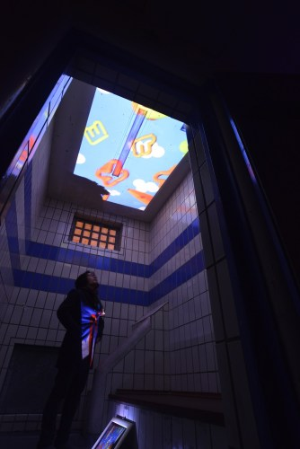 The second room in Shin Kiwoun's exhibition