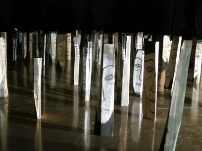 Yun Suk-nam: 500 - Returned (installation view at Asia House, photo LKL)