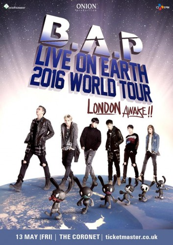 Live on Earth poster