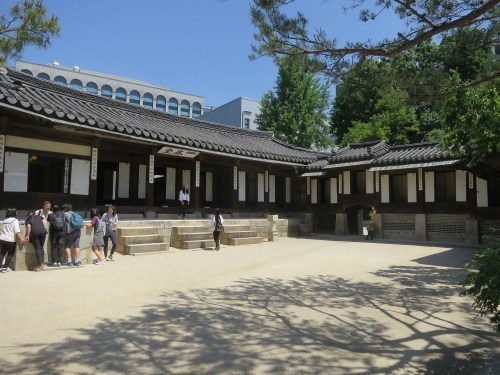 The main building of the Unhyeongung
