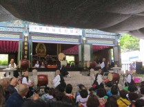 Japanese temple drummers at Giweonjeongsa