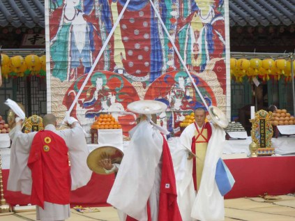 Buddha's Birthday at Bongwonsa