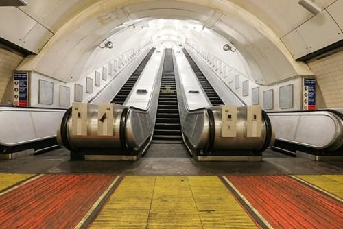 Disused station at Charing Cross