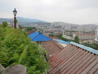 The roofs of Jangsu Village
