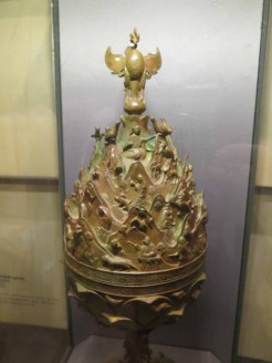 Replica of the Great Gilt-bronze Incense Burner of Baekje