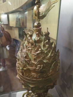 Replica of the Great Gilt-bronze Incense Burner of Baekje