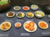 The kimchi-making display in the National Folk Museum