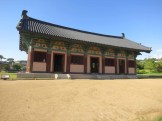 Jeongnimsa's reconstructed lecture hall