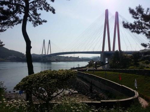 Jindo bridge